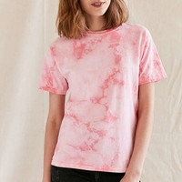 Urban Renewal Remade Uneven Dyed Tee - Urban Outfitters