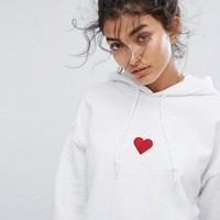 Adolescent Clothing Red Heart Hoody at asos.com