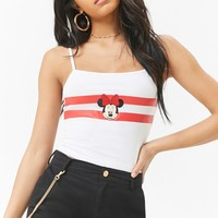 Minnie Mouse Patch Crop Cami