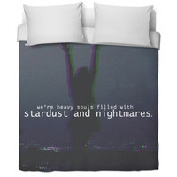 Stardust and Nightmares Duvet Cover