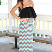 Not a Moment Too Soon Maxi Skirt - RESTOCK