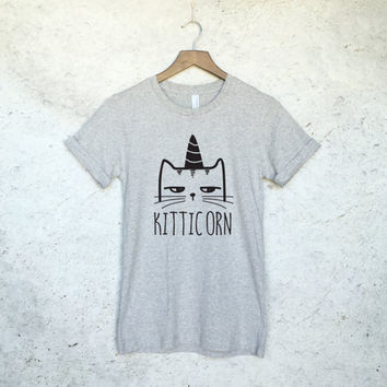 Kitticorn Kitty and Unicorn T-Shirt