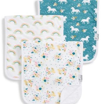 Copper Pearl 3-Pack Burp Cloths | Nordstrom