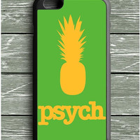 Yellow Green Psych Pinapple iPhone 6 Plus Case