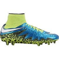 Nike Women's HyperVenom Phantom II FG Soccer Cleats - Blue/Volt | DICK'S Sporting Goods