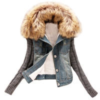 Fashion Women's Jacket, Womens Fur Jackets, Winter Jackets for Women