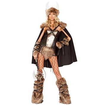 Sexy Beowulf Vikings Warrior Queen Costume