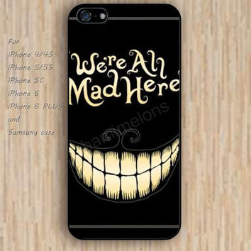 iPhone 5s 6 case colorful Alice in Wonderland phone case iphone case,ipod case,samsung galaxy case available plastic rubber case waterproof B297