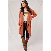 How We Love Oversized Cardigan (Rust)