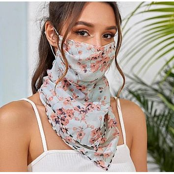 1 Fits All - PinkGB - Face Mask Scarf