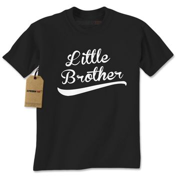 Little Brother Siblings Mens T-shirt