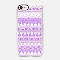 Aztec Lilac iPhone 7 Case by Vasare Nar | Casetify