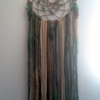 Natural, Earth tones Dream Catcher - Free Shipping!