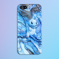 Squirtle Blue Marble x Stone Phone Case Texture iPhone 6 iPhone 6 Plus Tough iPhone Case Galaxy S7 Samsung Galaxy Case Printed CASE ESCAPE