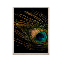 """Alison Coxon """"Peacock Black"""" KESS Naturals Canvas (Frame not Included)"""