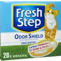 DCCKU7Q Everclean Fresh Step Odor Shield Unscented Scoop Litter 3-14 Lb Boxes
