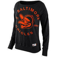 Baltimore Orioles Women's Cooperstown Washed Epic Crew Fleece by Nike - MLB.com Shop