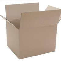 """Caremail Recycled Shipping Boxes, Binder Size, 15"""" x 12"""" x 10"""", Brown, 12-Pack (1119264)"""