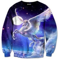 Majestic Unicorn Crewneck