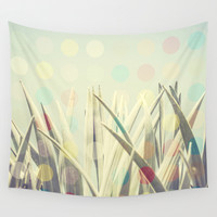 Dots Cactus Wall Tapestry by Metron