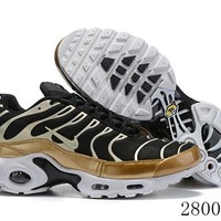 Hcxx 19July 1187 Nike Air Max Plus QS 605112-055 Retro Sports Flyknit Running Shoes