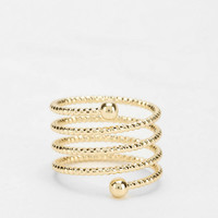 Coiled Midi Ring - Urban Outfitters