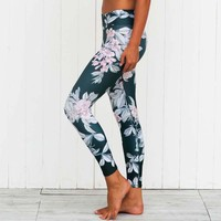 Sports Print Yoga Pants Stretch Fitness Workout Leggings [10182758983]