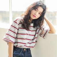 Multicolor Striped T-Shirt