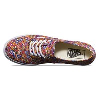 Vans Authentic Lo Pro Shoes (Ditsy Floral) Purple Shoes at 7TWENTY Boardshop, Inc