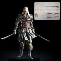 Assassin's Creed 4 Edward Kenway Play Arts Kai Action Figure - Square-Enix - Assassins Creed - Action Figures at Entertainment Earth