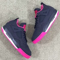 Air Jordan 4 Retro GS Denim Women Sneaker US Size 5.5-8.5