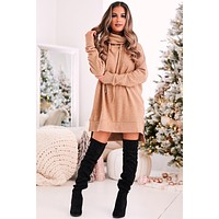 No Filter Needed Tunic Sweater (Deep Camel)