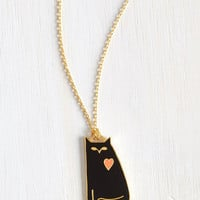 Cats All Pets Are Off Necklace by ModCloth