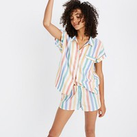 Bedtime Pajama Short in Stripe