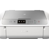 Canon - PIXMA MG5722 Wireless All-In-One Printer - White/Silver