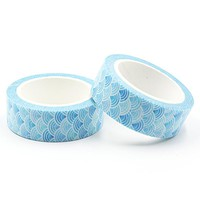 1 PCS Cloud Style Washi Tape DIY Decoration Scrapbooking Planner Masking Tape Kawaii Stationery Adhesive Tape