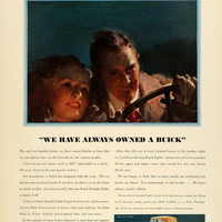 1931 Ad Antique Buick Straight Eights Fisher Body Romantic Couple Cruise COL2