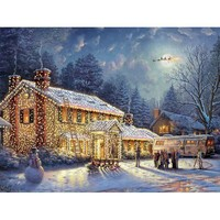 Ceaco Thomas Kinkade National Lampoon's Christmas Vacation Jigsaw Puzzle - Puzzle Haven