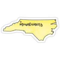 'Appalachian State Mountaineers' Sticker by Canaan Grant