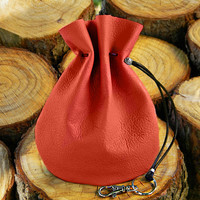 Large Red Purse, Soft Leather Purses