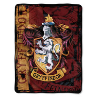 Harry Potter Battle Flag  Micro Raschel Throw (46in x 60in)