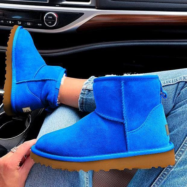 Image of UGG Women Men Fashion Wool Snow Boots Shoes