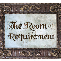 Room of Requirement - Harry Potter Inspired Foam Board Signs