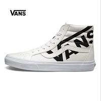 Vans SK8-Hi White High Top Men Flats Shoes Canvas Sneakers Women Sport Shoes