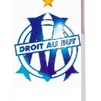 free shipping!2014 new arrival HOT selling olympique de marseille designs luxury white hard case cover for iphone5 5s