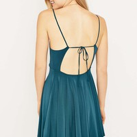 Silence + Noise Lonnie Teal Dress - Urban Outfitters