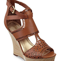 GUESS Women's Shoes, Agenta Platform Wedges - SALE & CLEARANCE - Shoes - Macy's