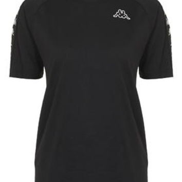 Coen Tee by Kappa - Black