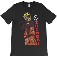 naruto shinobi anime T-Shirt