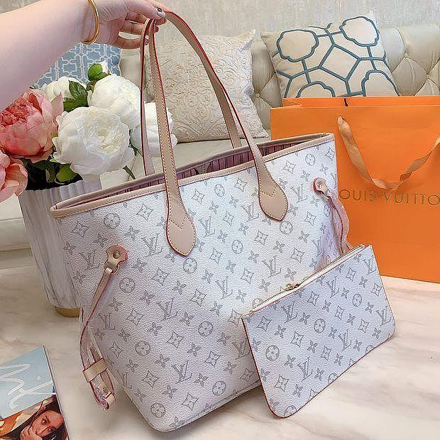Image of Louis Vuitton LV Hot Selling Two-Piece Bags Fashion Ladies Shoulder Bags Handbags Shopping Bags